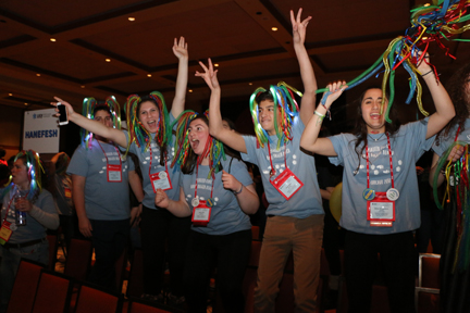 Hanefesh USY shows their pride in Chicago - Jewish Ledger