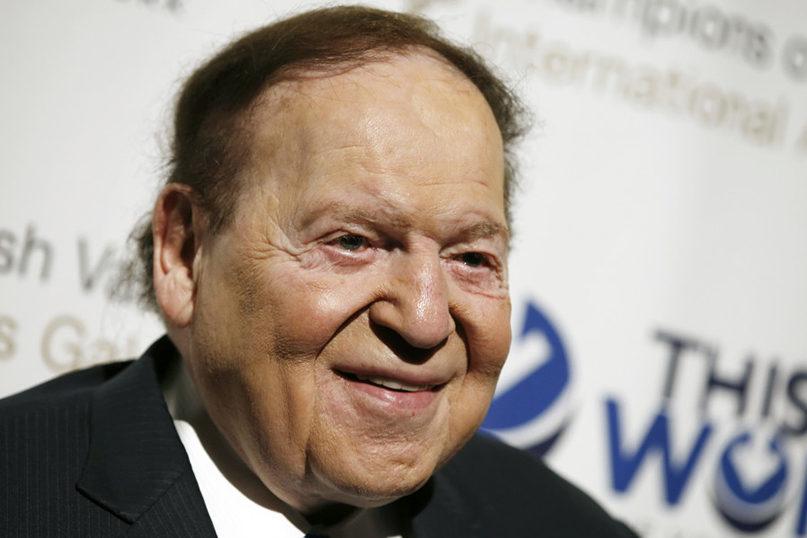 Sheldon Adelson accosted, cursed in Tel Aviv - Jewish Ledger